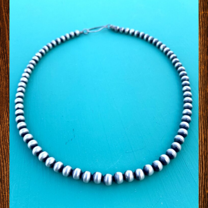 Cynthia Out West | 5mm Navajo Pearls 20""