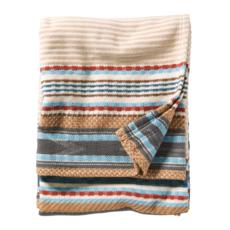 Pendleton Pendleton | Escalante Ridge Cotton Throw Blanket | Camel