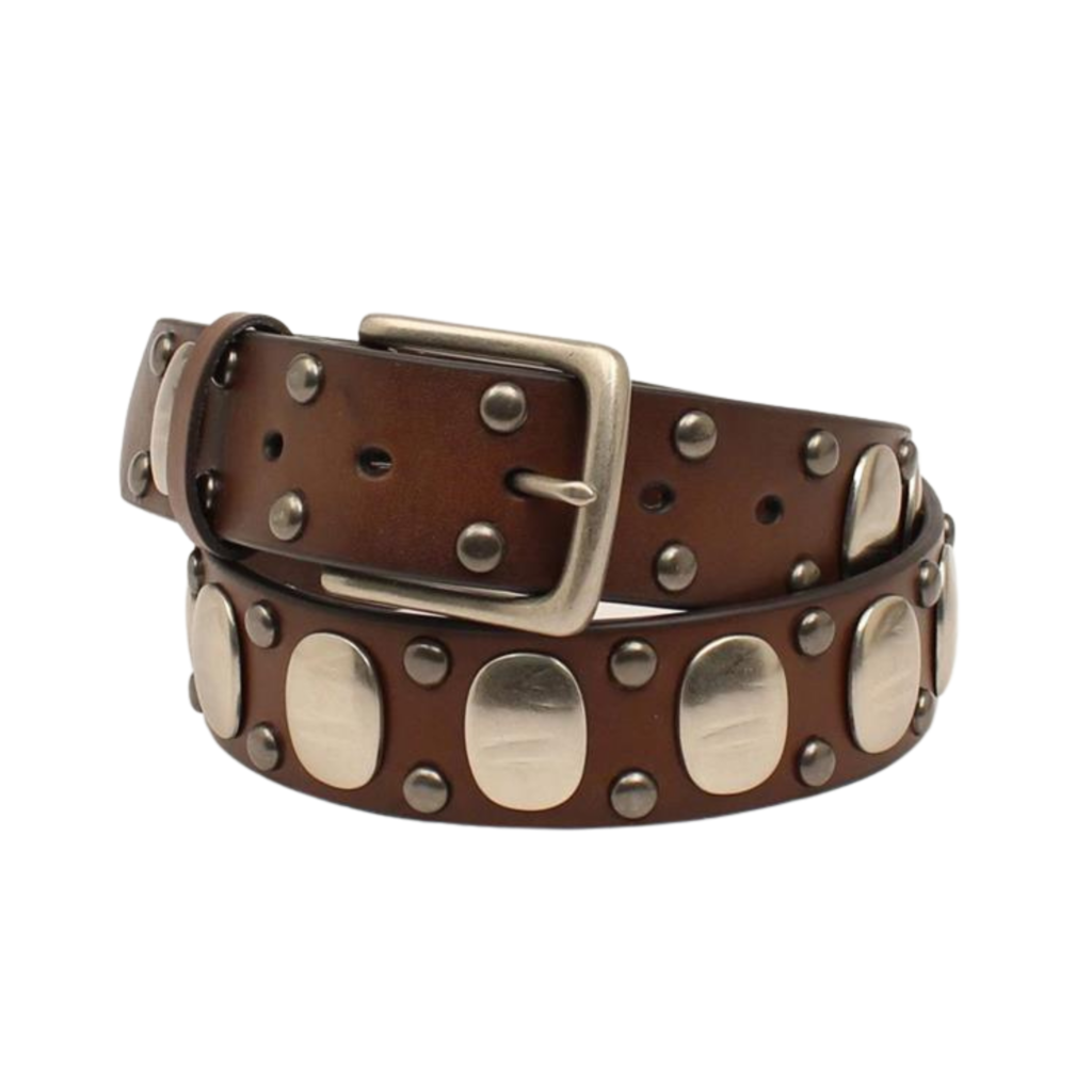 Ariat   Studded Leather Belt