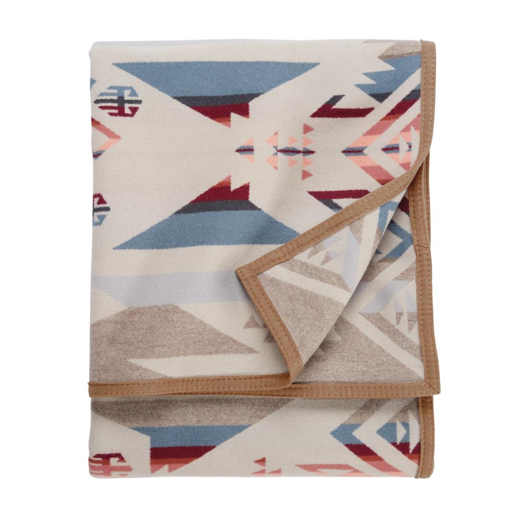 Pendleton Pendleton | Jacquard Twin Robe Blanket | White Sands Tan
