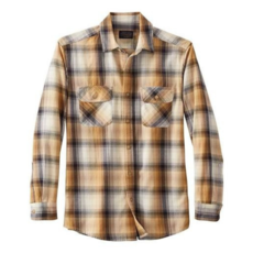 Pendleton Pendleton   Beach Shack Shirt in Tan/Grey/Charcoal Ombre
