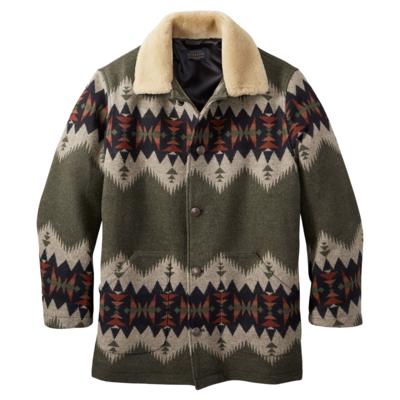 Pendleton Pendleton | Brownsville Coat, Olive Mix Sonora