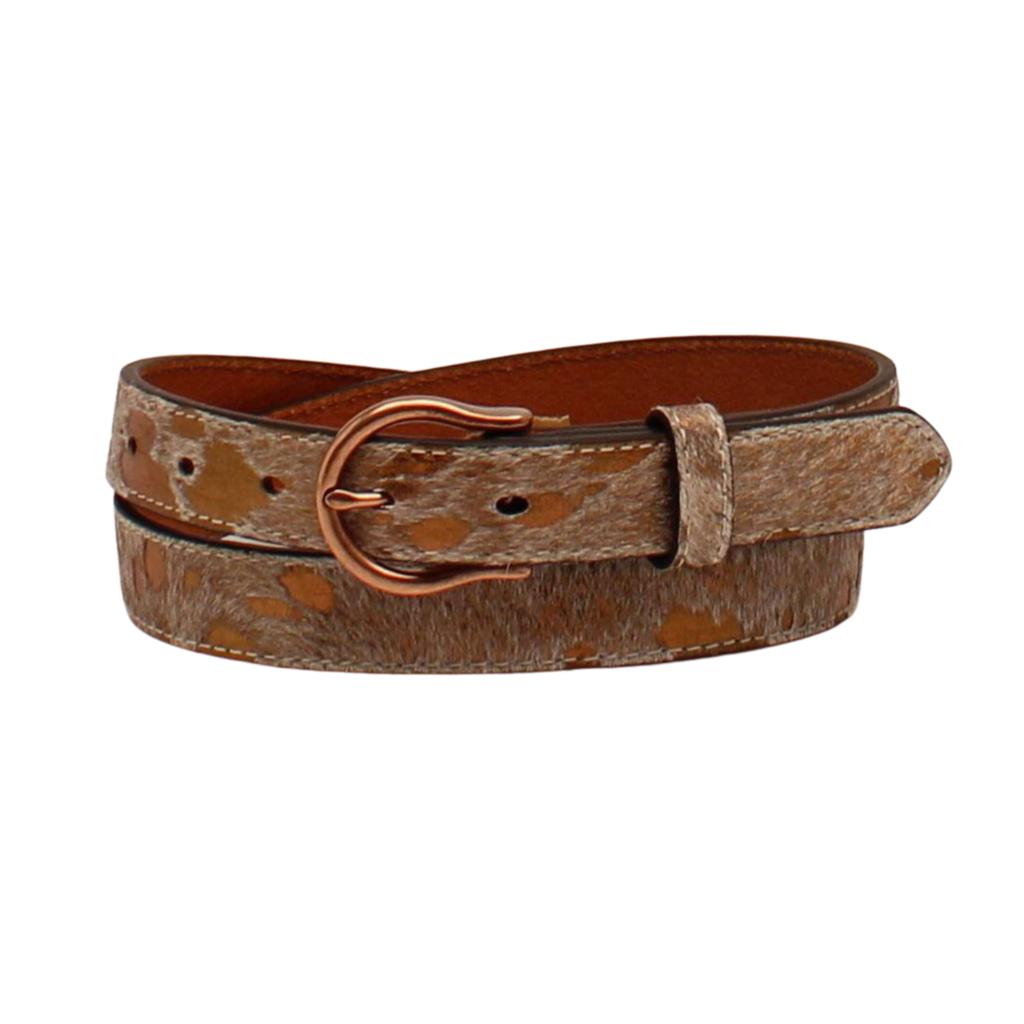 Ariat | Metallic Cowhide Belt