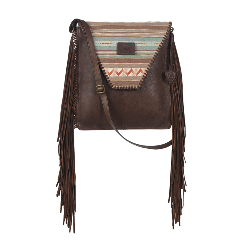 Ariat | Crossbody Serape Fringe Bag