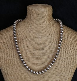 Sterling | 5mm Navajo Pearl Necklace