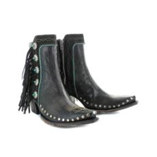 "Old Gringo   ""Apache Kid"" Boots, Black"