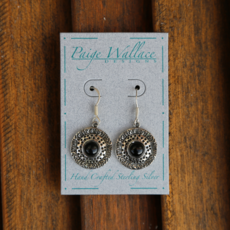 Paige Wallace | Onyx Sterling Silver Earrings
