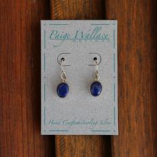 Paige Wallace   Lapis Sterling Silver Earrings