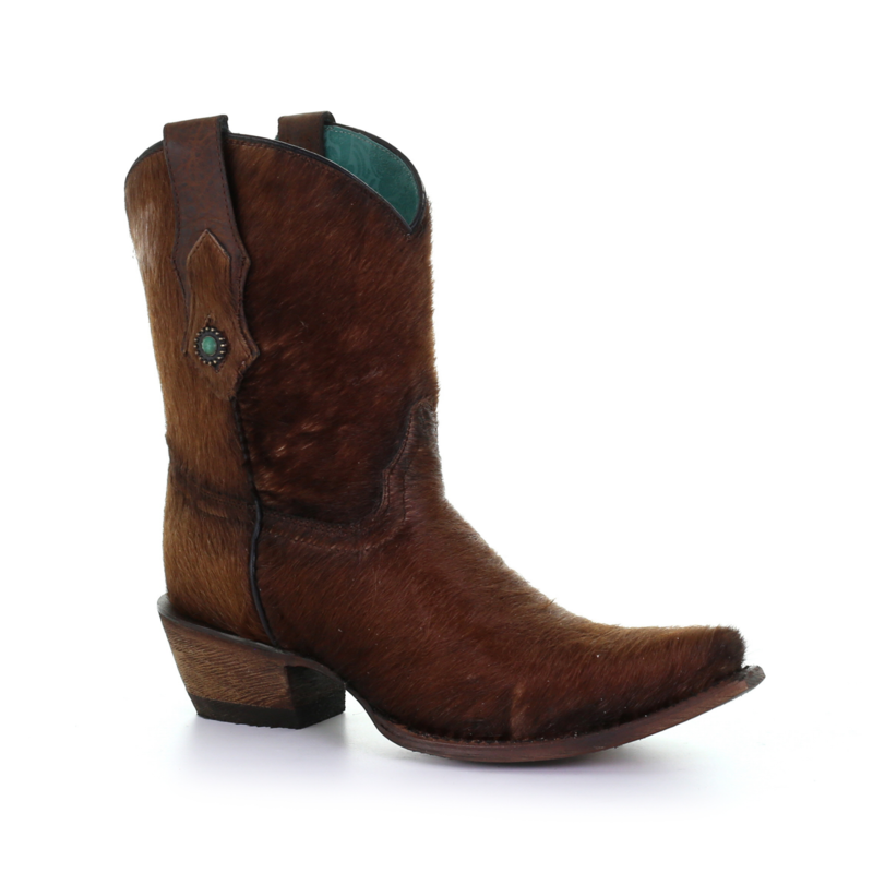 Corral   Cowhide Brown Boot