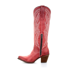 Corral   Embroidered Boots   Red
