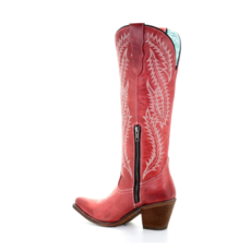 Corral | Red Embroidered Boots