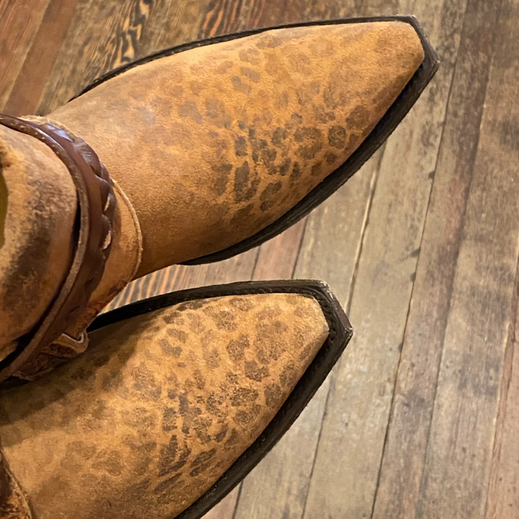 Canty Boots | Leopardito Boots | Size 9