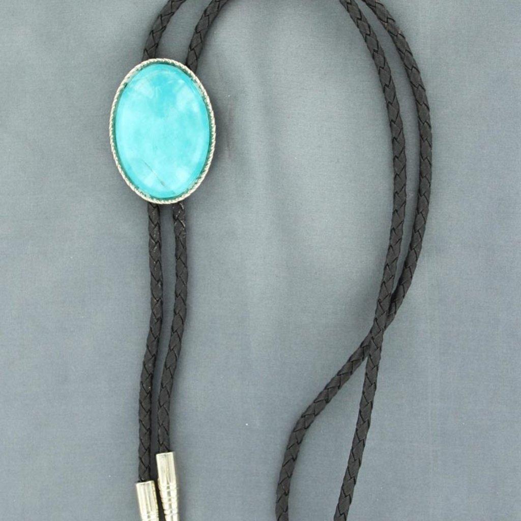 Double S | Turquoise Bolo Tie