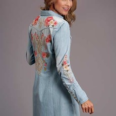 Stetson | Chambray Denim Shirt Dress