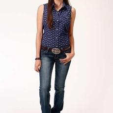 Roper | Floral Print Sleeveless Shirt
