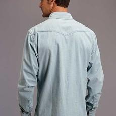 Stetson   Denim L/S Snap Shirt