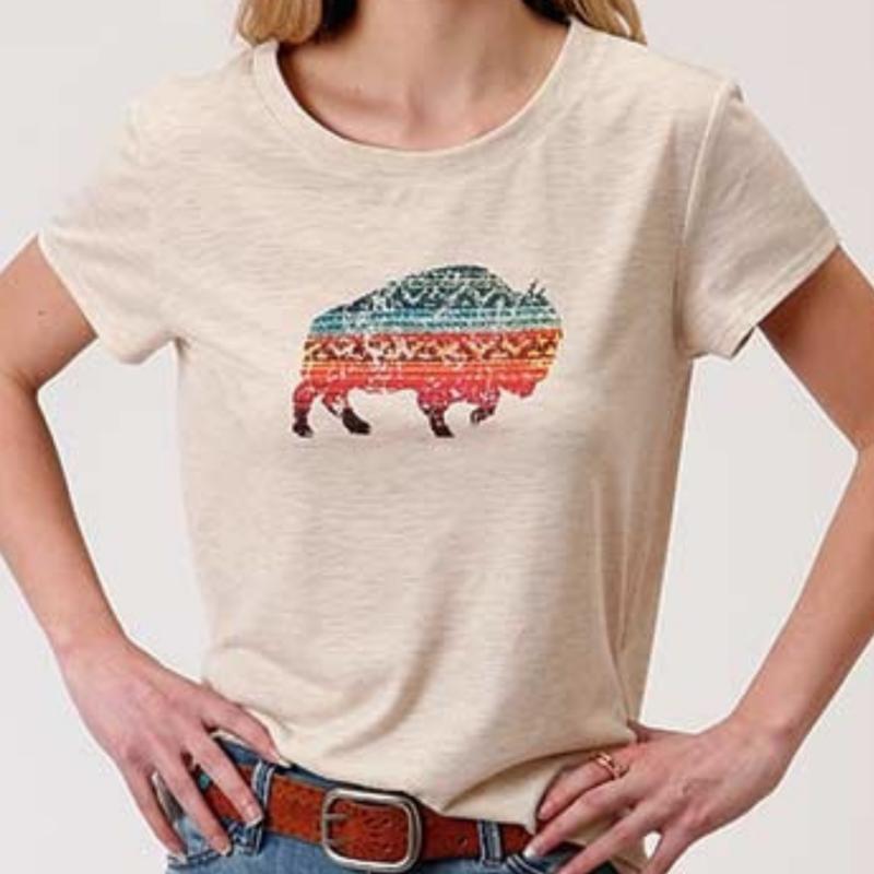 Roper | Buffalo Tee