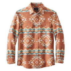 Pendleton Pendleton | Beach Shack Shirt in Terra Cotta Multi