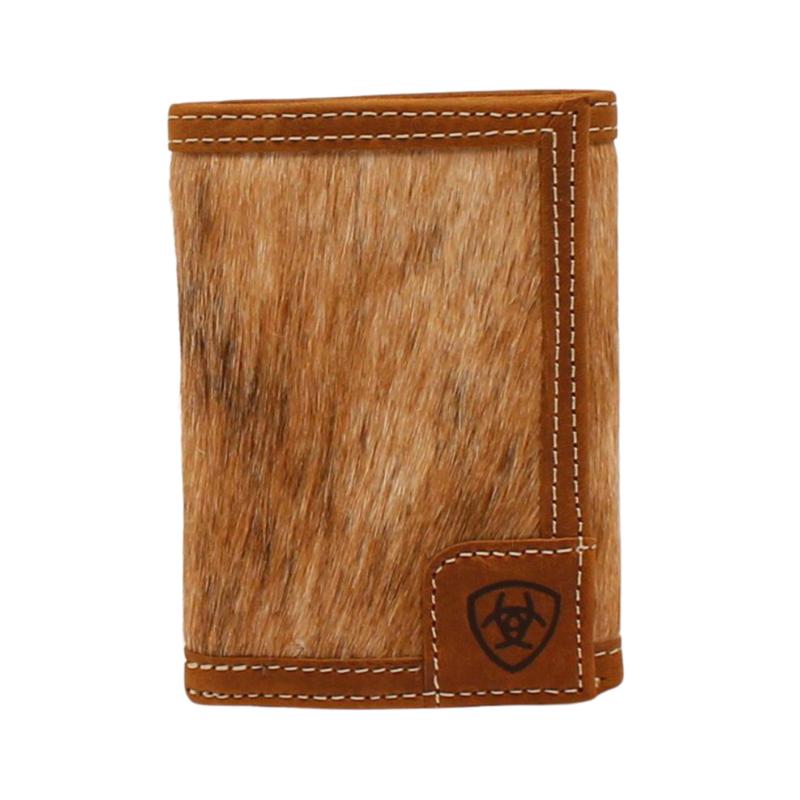 Ariat | Trifold Calf Hair Wallet