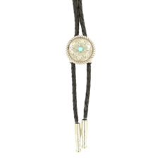Double S | Youth Turquoise Bolo Tie