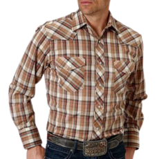 Roper | Plaid Snap Shirt
