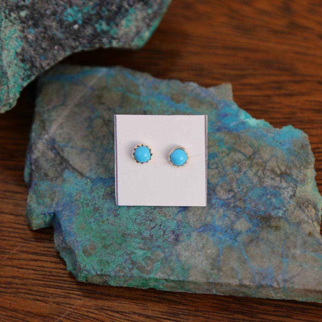 Sterling | Turquoise Sterling Stud Earrings