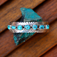 Sterling | Turquoise Cuff