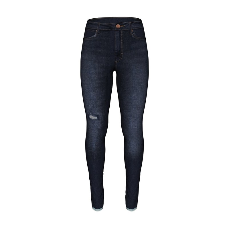 Retro Premium Skinny Jean   High Rise