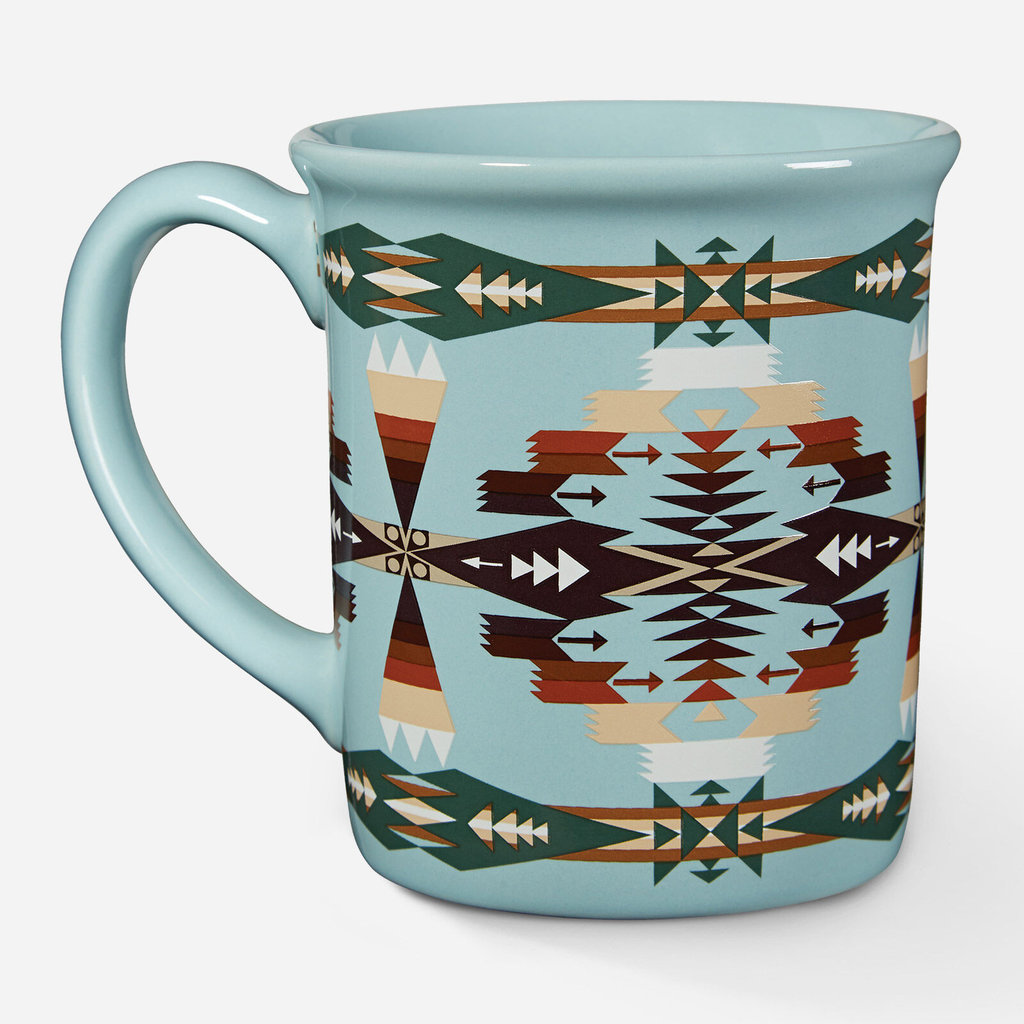 Pendleton Pendleton | 18 oz Ceramic Mug in Tucson Aqua