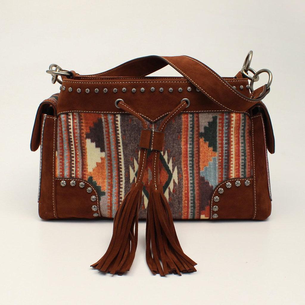 M&F Western | Aztec Satchel Bag
