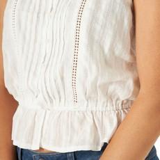 Wrangler | Short Sleeve Ruffled Top