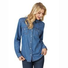 Wrangler | Western Denim Shirt