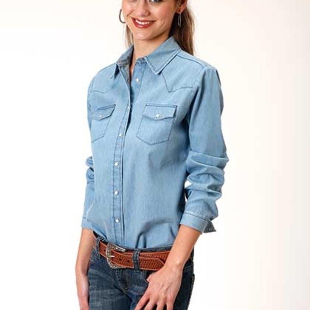 Roper   Denim Western Shirt