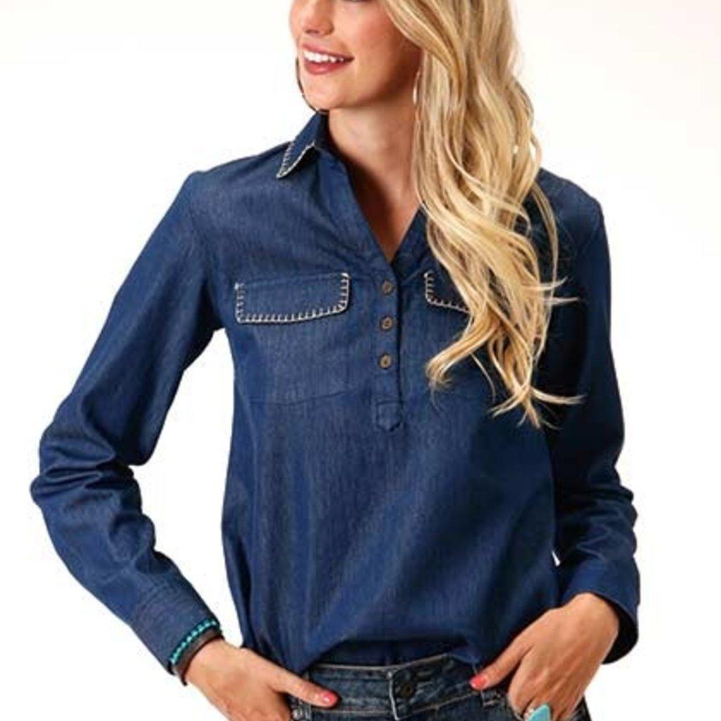 Roper | Denim Pullover Shirt