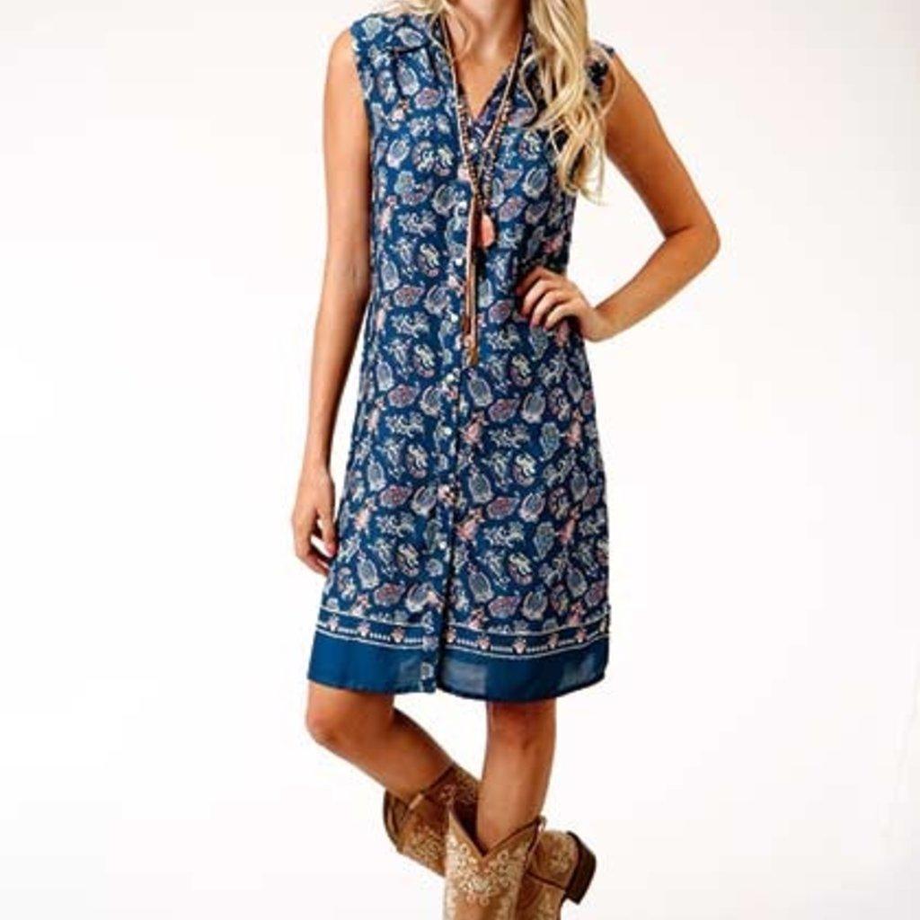 Roper   Paisley Rayon Dress