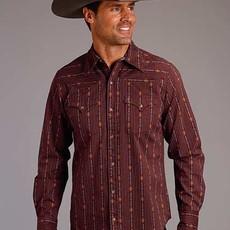 Stetson | Aztec Stripe L/S Shirt