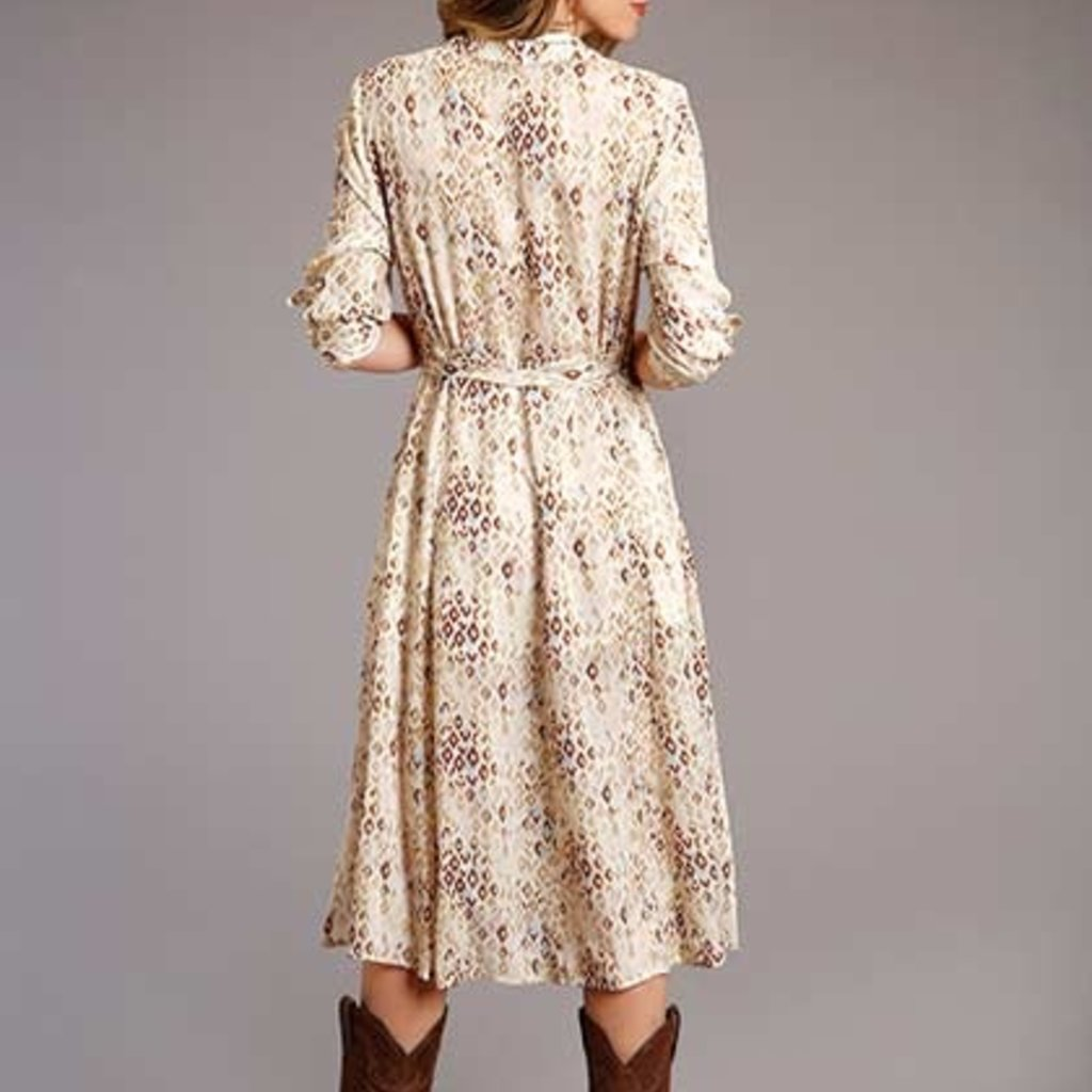 Stetson | Aztec Herringbone Twill Dress