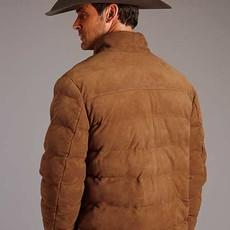 Stetson | Suede Puffer Jacket