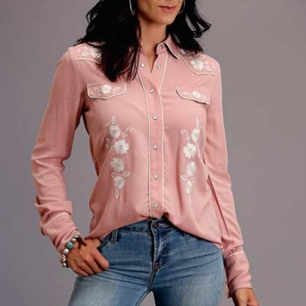 Stetson | Western Style Snap Blouse