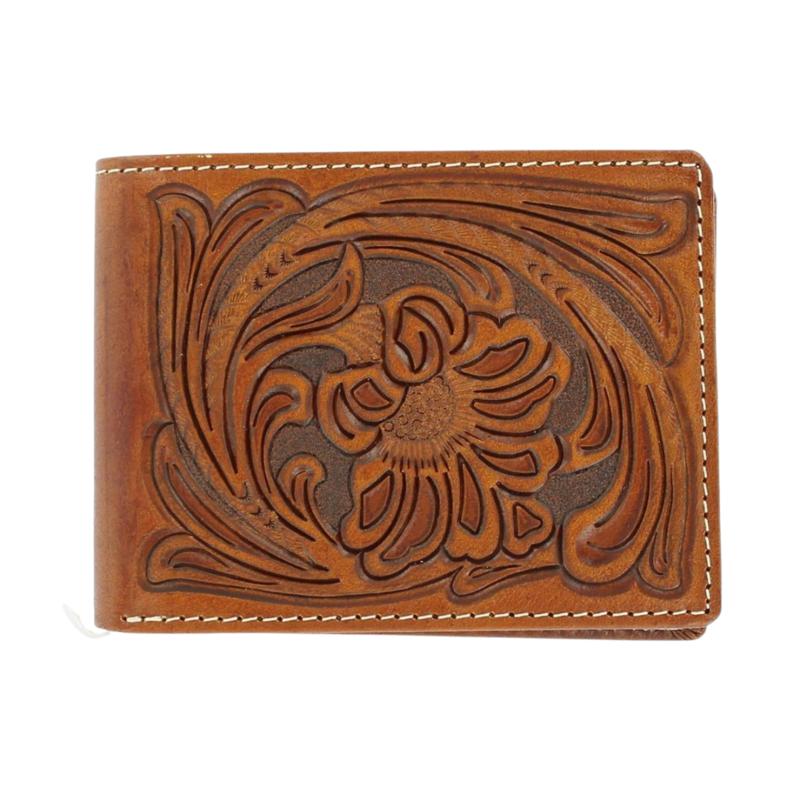 M&F Western   Bi-Fold Leather Wallet