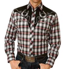 Roper | Plaid Horseshoe Shirt