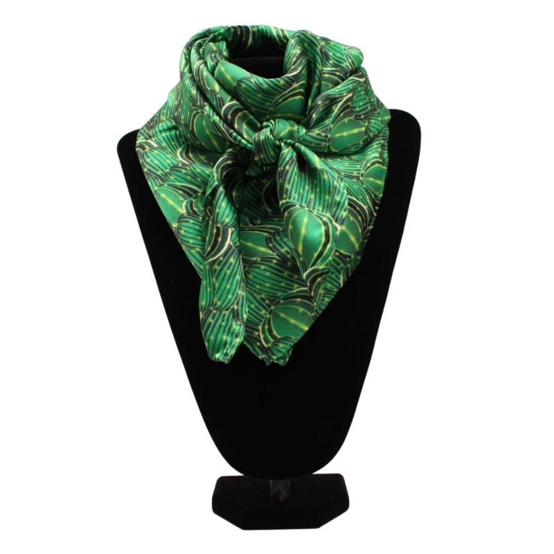 Silk Scarf | Cactus Green