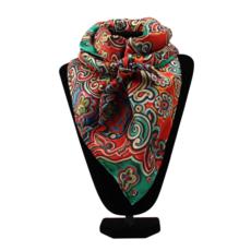 M&F Western   Silk Scarf, Bright Floral