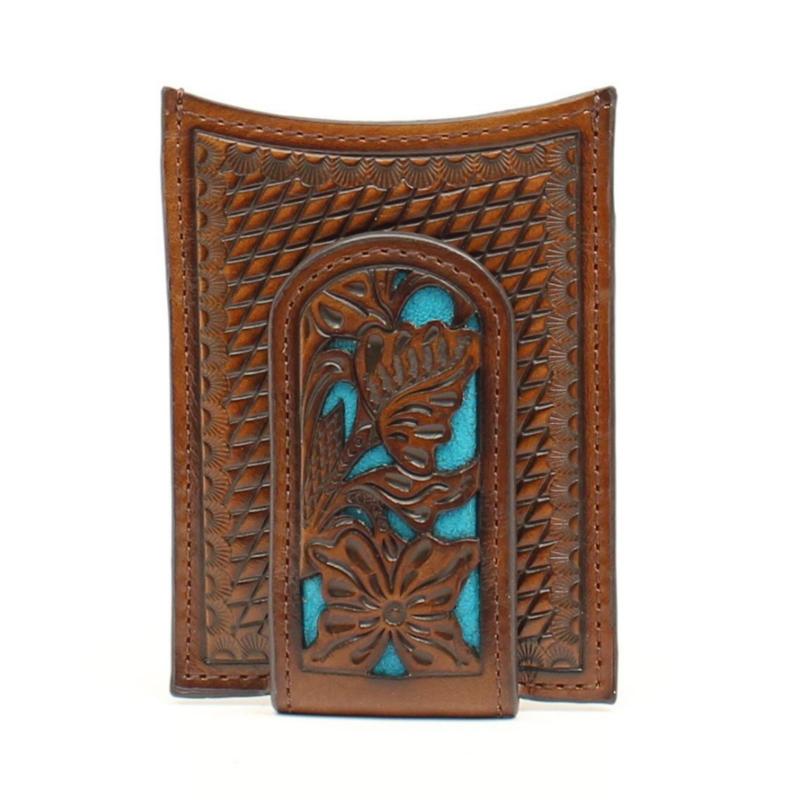 Nocona   Leather Money Clip Wallet