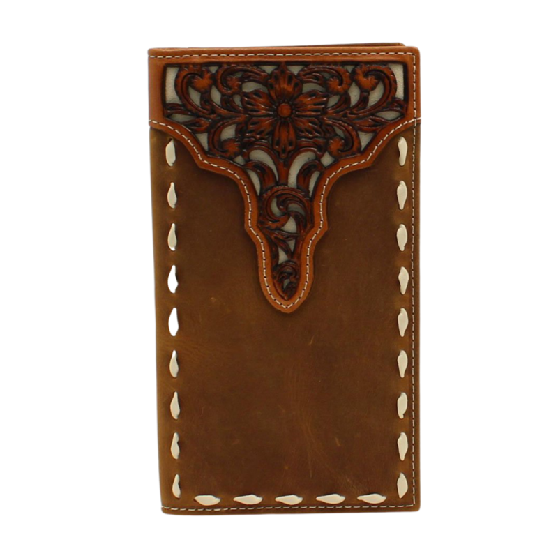 Ariat   Rodeo Floral Tooled Wallet