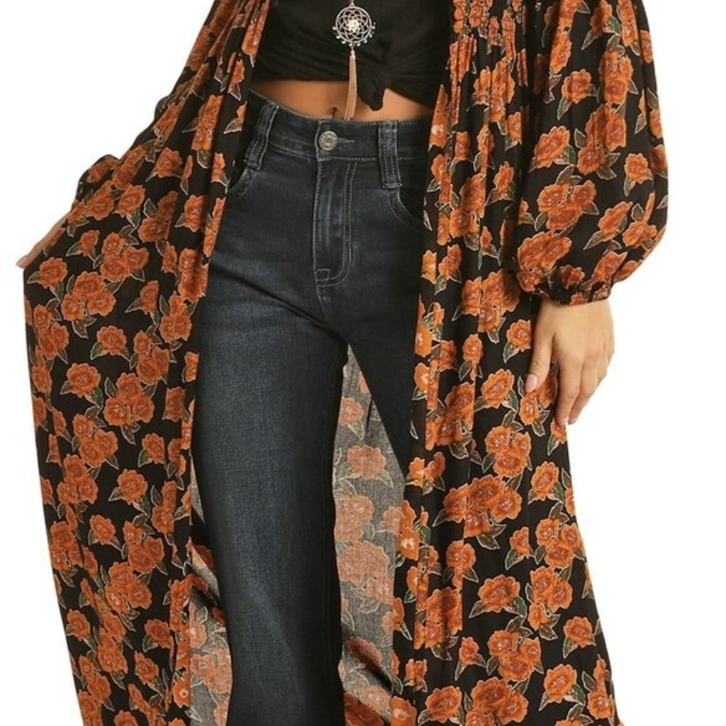 Rock & Roll | Floral Printed Duster