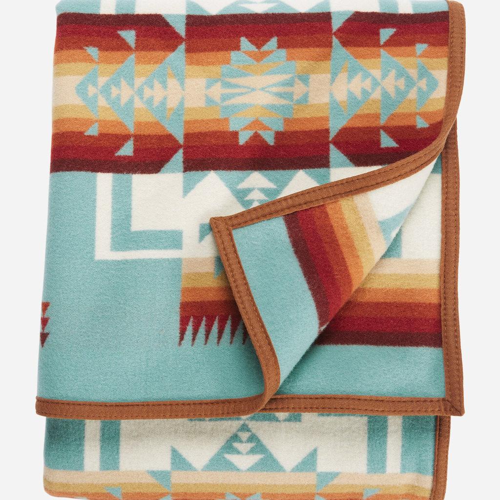 Pendleton Pendleton | Jacquard Robe | Twin | Chief Joseph | Aqua