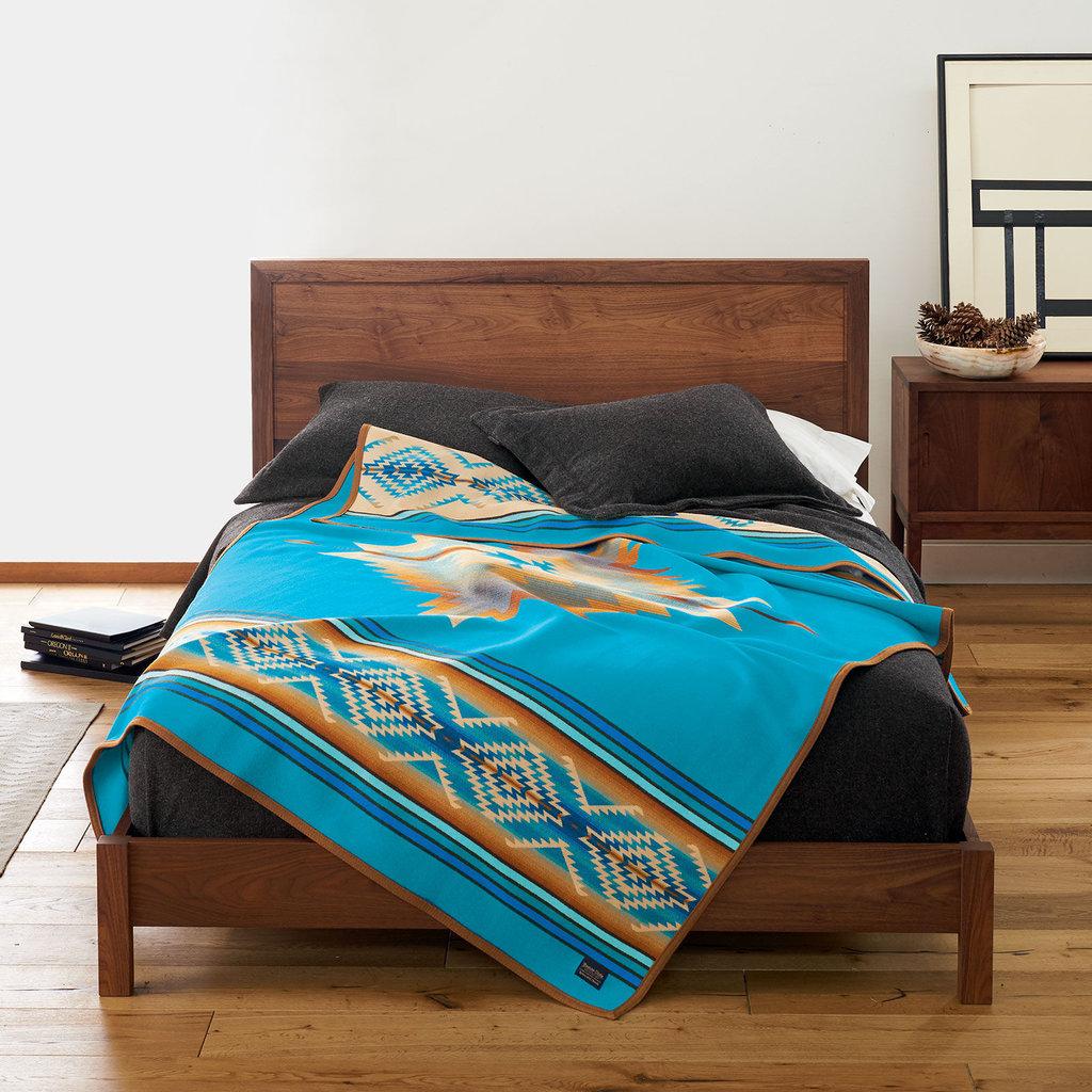 Pendleton Pendleton | Jacquard Unnapped Robe | Twin | Pagosa Springs | Turquoise