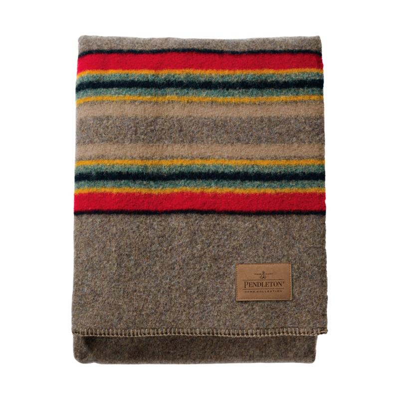 Pendleton Pendleton | Yakima Camp Twin Blanket | Mineral Umber