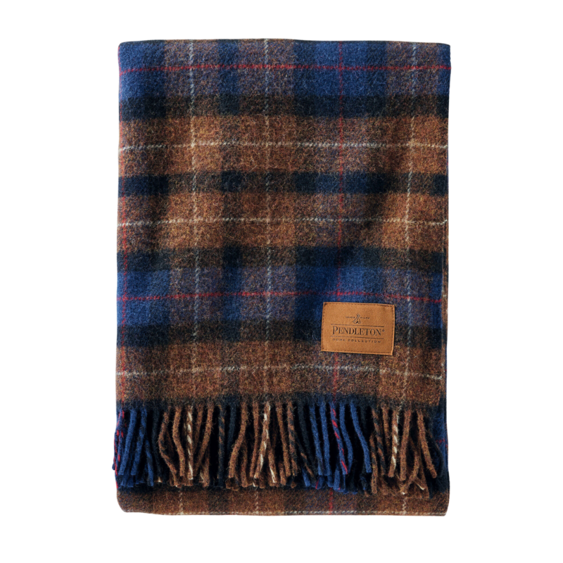 Pendleton Motor Robe with Carrier | Shelter Bay Plaid